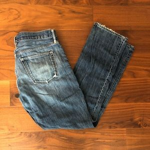 Gap 1969 Medium Washed Distressed Standard Jeans